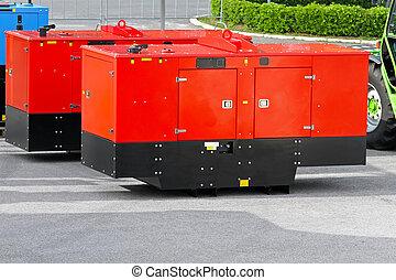Mobile power generators - Mobile electric power generator...