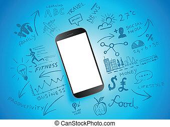 mobile, produttività