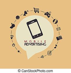 mobile, pubblicità