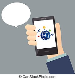 mobile, réseau