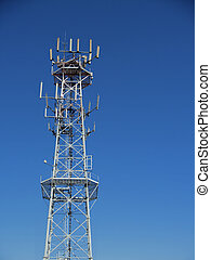 Mobile radio base tower