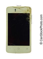 mobile screen broken