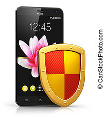 Mobile security and data protection concept