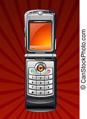 Mobile Smart Cell Phone vector