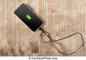 Mobile smart phone battery charge