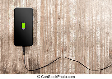 Mobile smartphone charging