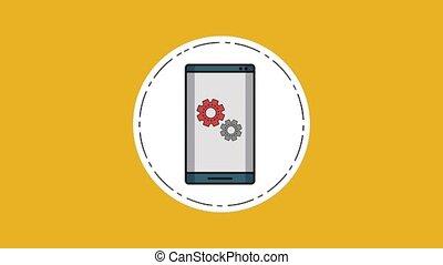 mobile, smartphone, technologie, hd