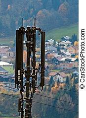 Mobile station in Salzburg