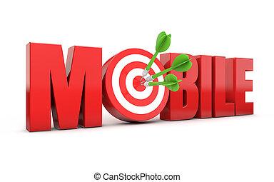 mobile target