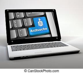 "Mobile Thin Client / Netbook ""Arztsuche"""