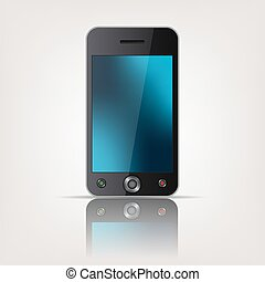 mobile, touchscreen, smartphone, templ
