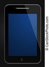 mobile touchscreen telephone