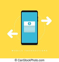 Mobile Transactions.