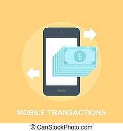 mobile, transactions