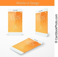 Mobile user application interface concept
