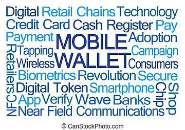 Mobile Wallet Word Cloud