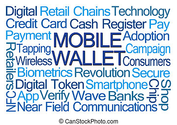 Mobile Wallet Word Cloud