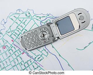 mobilfunk, landkarte