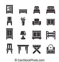 mobilia, icona