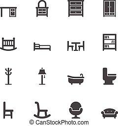 mobilia, icone