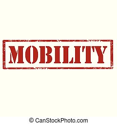 mobility-red, timbre