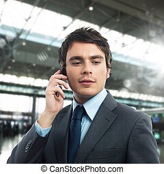 mobiltelefon, arbete
