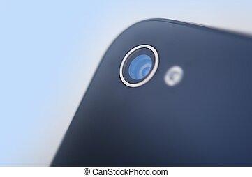mobiltelefon, kamera