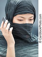 mobiltelefon, talande