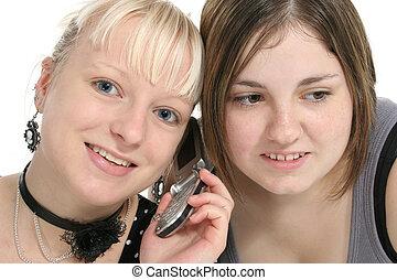 mobiltelefon, tonåren