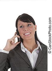mobiltelefon, unga kvinnor