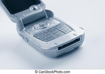 mobiltelefon, vaddera, nyckel