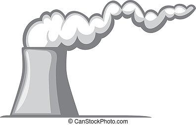 moc, jądrowa roślina