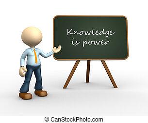 moc, wiedza