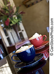 specialty coffees - mocha latte specialty coffees