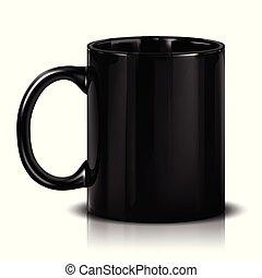Mock-up Black Cup
