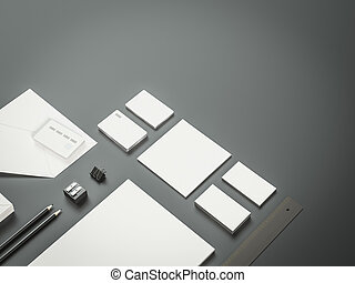 Mockup business template. Premium - Mockup business...