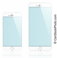 Mockups demo iPhones 6 and 5 for your purposes