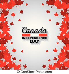 modèle, érable, pousse feuilles, fond, canadien