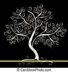 modèle, arbre