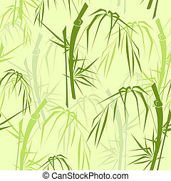 modèle, bambou, seamless