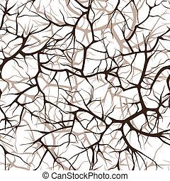 modèle, branches, seamless