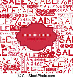modèle, cadre, vente, fond, seamless
