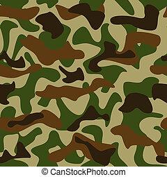 modèle, camouflage
