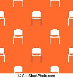 modèle, chaise, noir, seamless, bureau