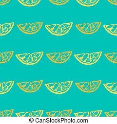 modèle, citron, seamless