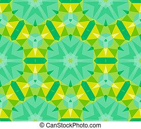 modèle, clair, géométrique, multicolore, color.