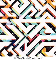 modèle, clair, géométrique, seamless