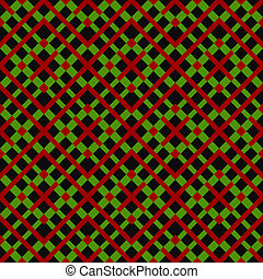 modèle, coloré, géométrique