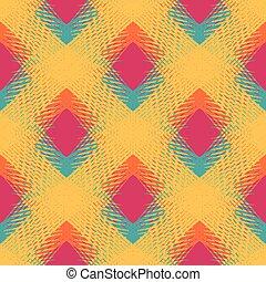modèle, conception abstraite, géométrique, ton