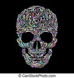 modèle, crâne